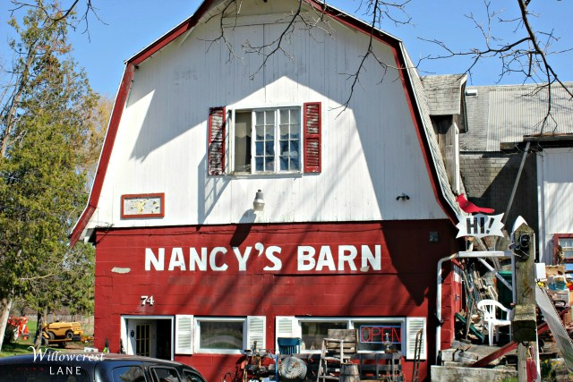 A Henrietta landmark, Nancy's Barn is filled with thrifty treasures.