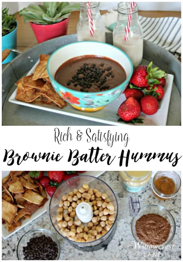 willowcrest lane brownie batter hummus