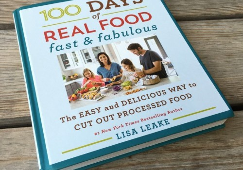 Easy, whole food recipes and tips for cutting out processed food
