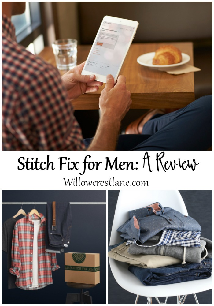 Willowcrest Lane: Stitch Fix for men is here! See easy and stylish choices to update your man's wardrobe.