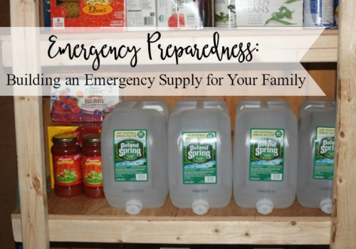 Build your family's emergency supplies and rest easy knowing you are prepared.