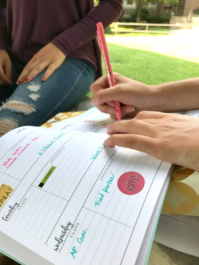 The new Erin Condren Academic Planner is a stylish tool for back to school success.