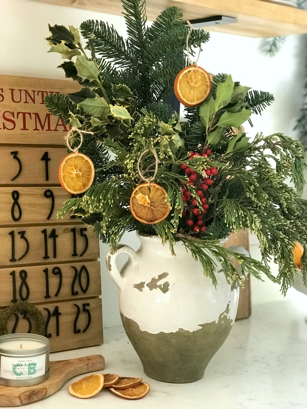 Homemade Holiday Orange Garland