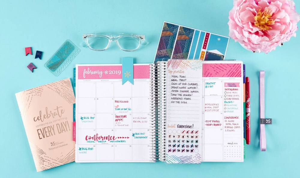 image about Erin Condron called 2019 Erin Condren Daily life Planner Overview - Norah Pritchard
