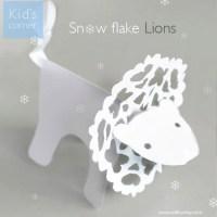 Snow Flake Lions
