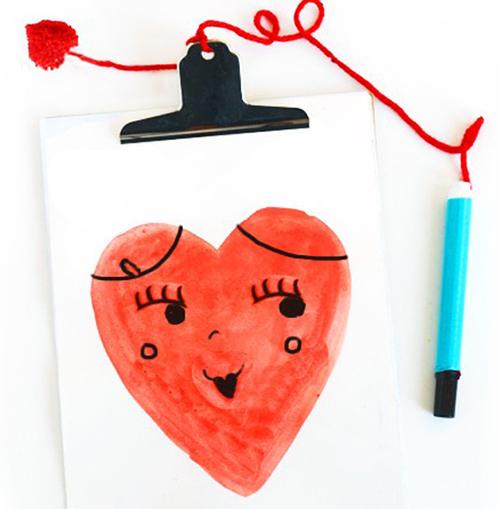 valentine-doodle-board