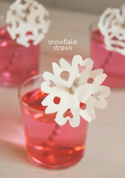snowflake-straw-topper