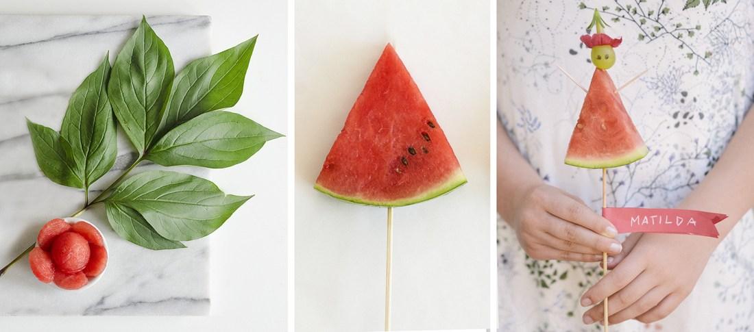 Make A Watermelon Flower Willowday