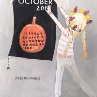 FREE PRINTABLE, Halloween Countdown Calendar 2019