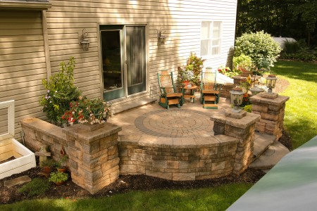 Hardscape Patio Ideas Gallery Outstanding Designs