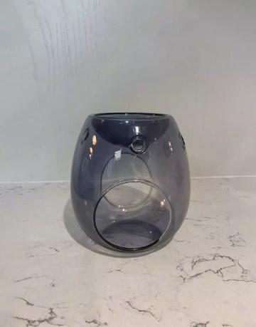 Smoke Grey Glass Burner