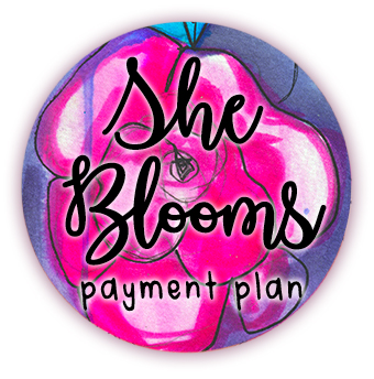 She Blooms in Ink - Payment Plan