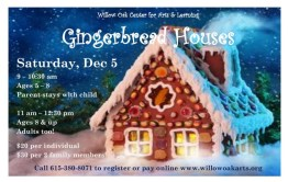 Gingerbread Houses – December 5, 2015