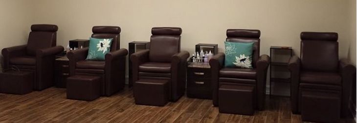 Willows Day Spa Salon Chairs