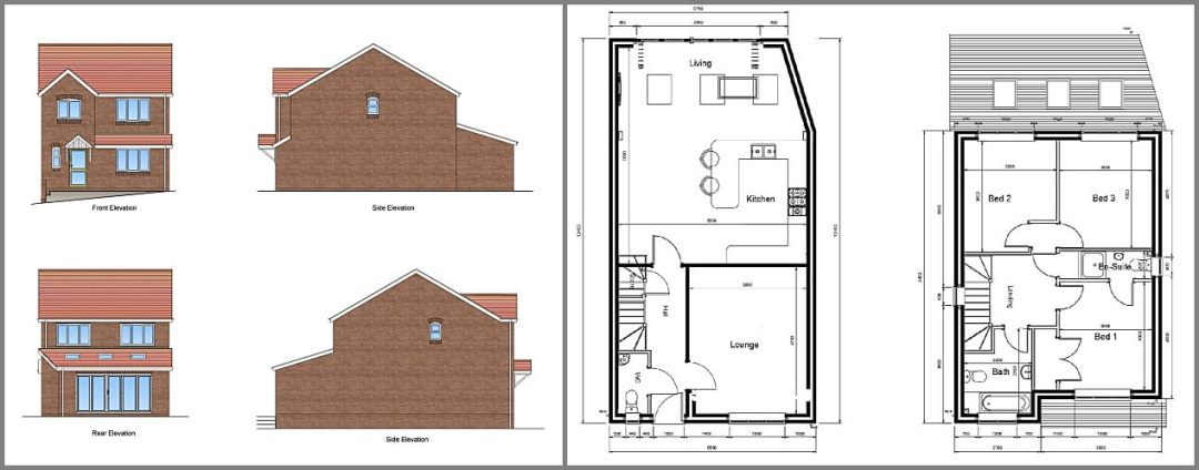 NEW BUILD HOUSE PROPERTY FOR SALE SWADLINCOTE DERBYSHIRE DE117JX