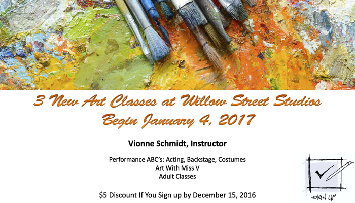 Art At Willow Street Studios