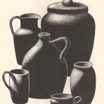Redware pots Fisher