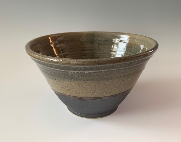 Bowl rustic blue