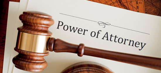 Signing a Lasting Power of Attorney