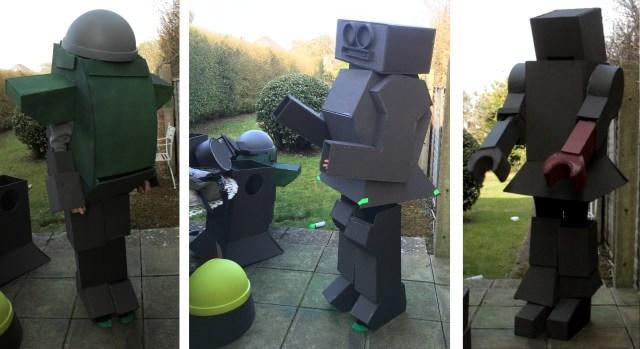Robot Test Fitting