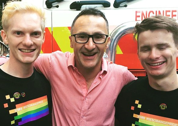richard di natale from twitter v