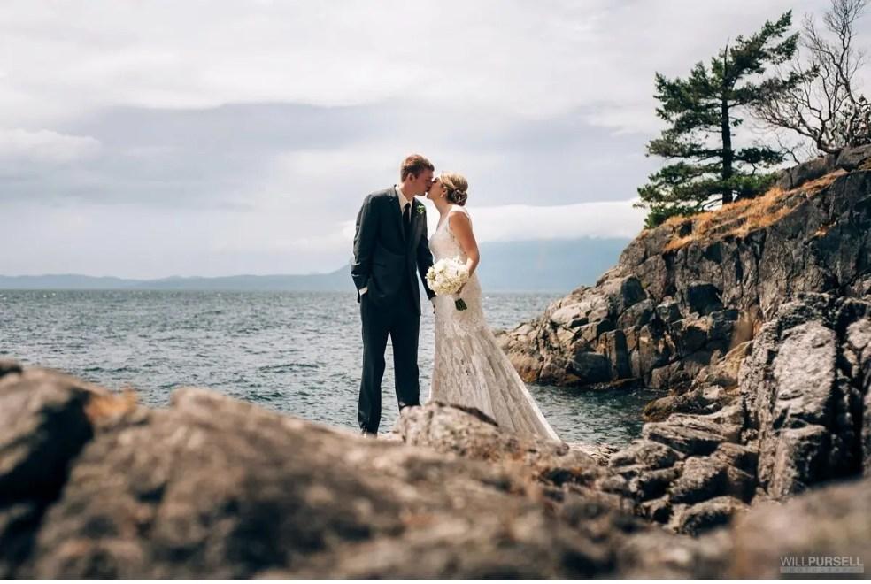 rockwater cove wedding portrait