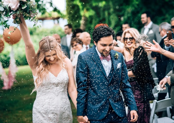 vancouver brock house wedding ceremony