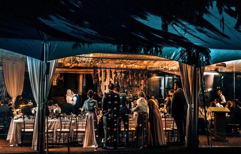 tent wedding vancouver