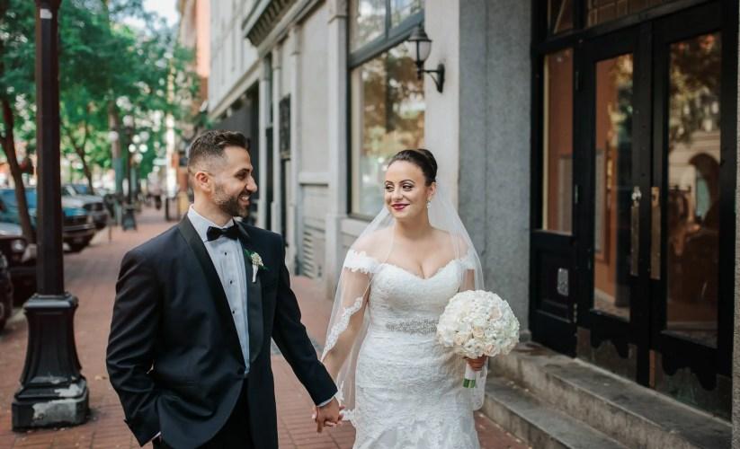 Vancouver Gastown Wedding