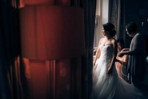 005 Rosewood Hotel Georgia wedding dress