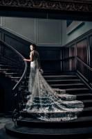 024 bride on stairs Rosewood Hotel Georgia