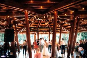Lil'wat Cultural Centre wedding