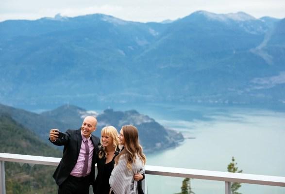 mountain wedding views