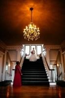 wedding hycroft staircase