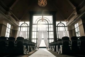 swaneset indoor wedding ceremony