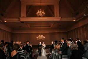 indoor wedding ceremony vancouver