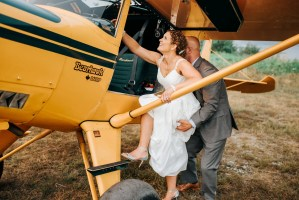 018 - airplane wedding photography