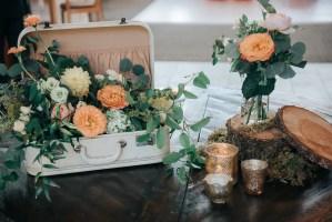 051 - flower vintage wedding details