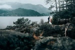 wedding photos mountains