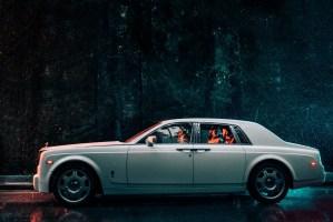 001 - Rolls-Royce Phantom wedding photos
