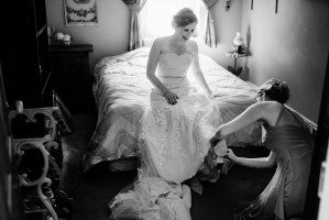 004 - black and white country wedding
