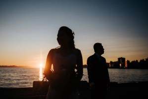 Best place for sunset wedding photos vancouver