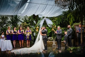 018 - Woodbridge Ponds wedding ceremony
