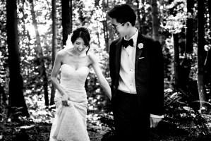 009 - black and white wedding photos