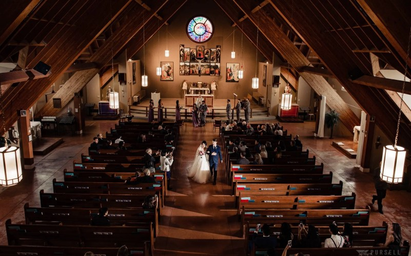 005 - church wedding fraser valley