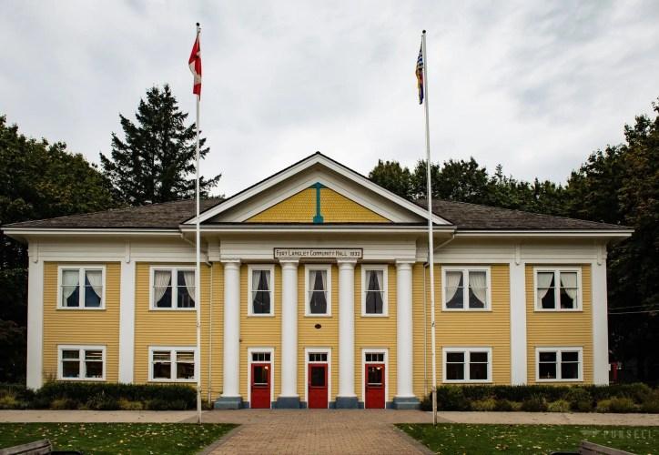 016 - wedding Fort Langley Community Hall