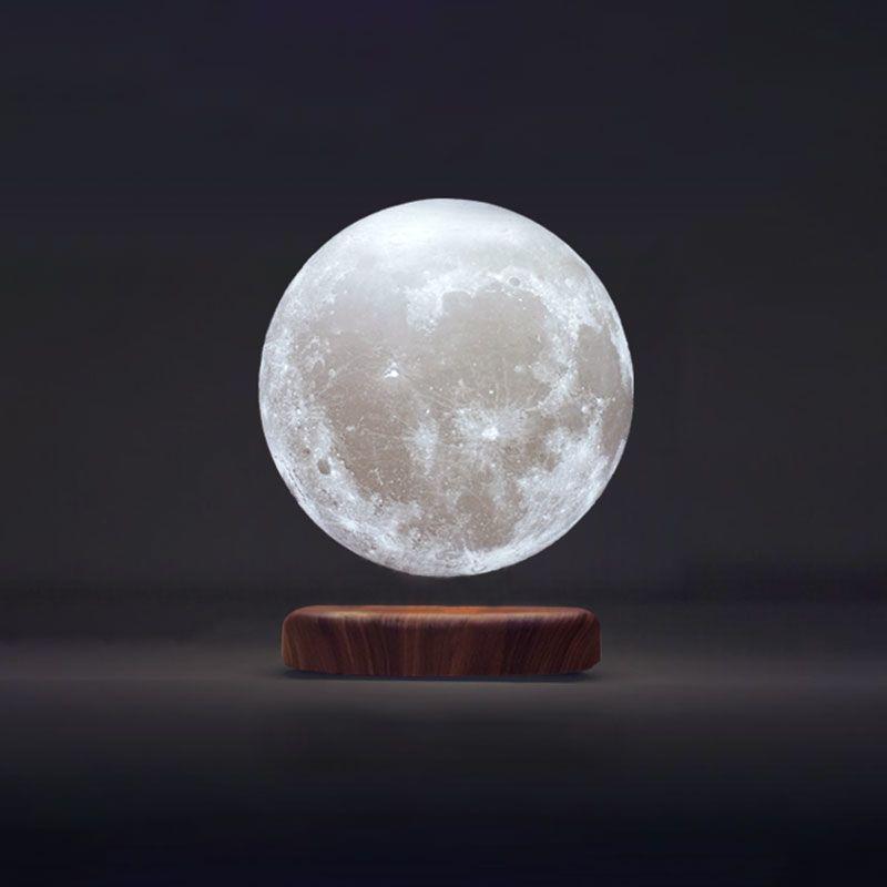 Lampe Lune en Lévitation