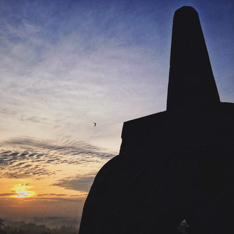 Pagoda sun