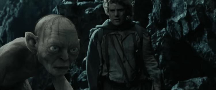 Sam and Gollum