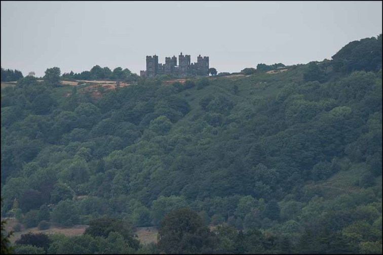 Riber Castle from Sheep Pasture winding house Nikon 300mm F4E